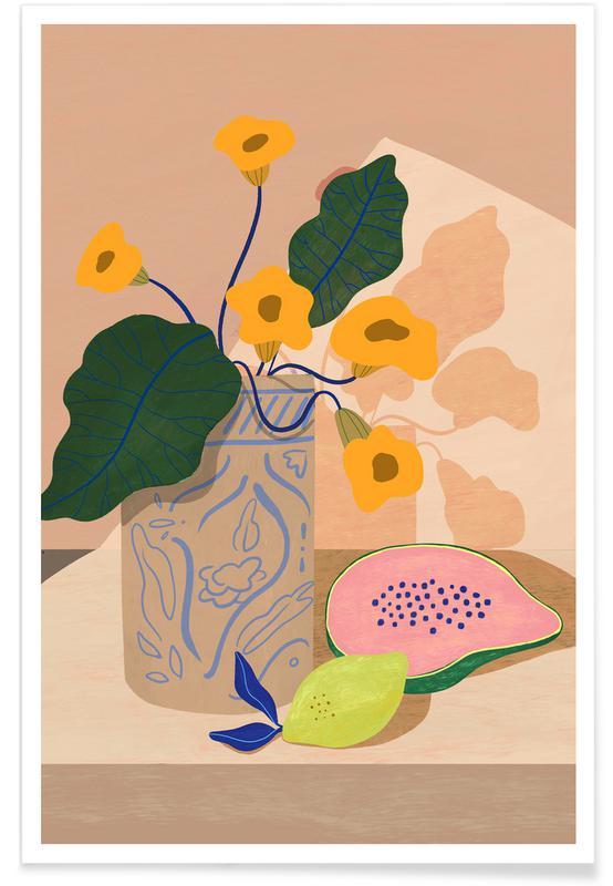 Beaches, Dance, Lemon Papaya Poster