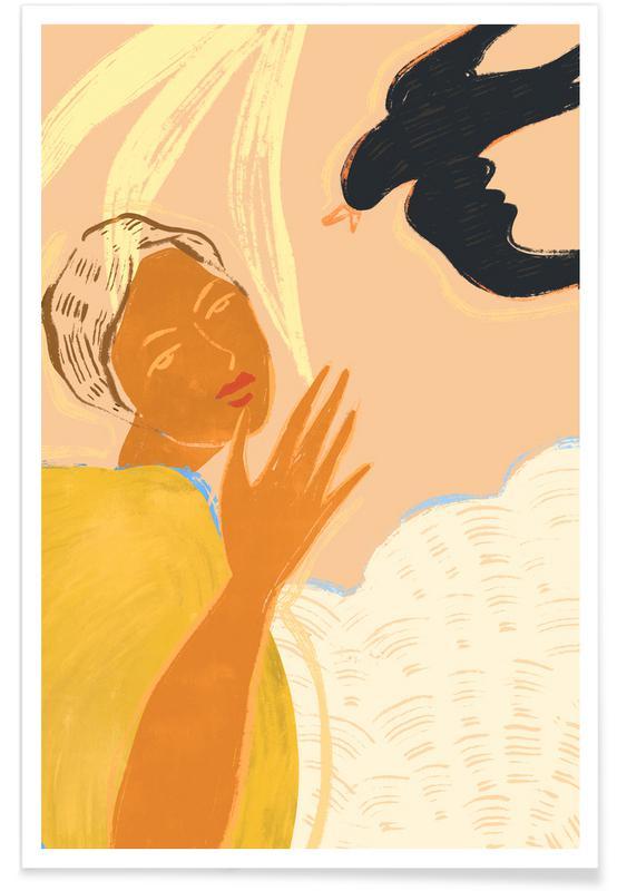 Tanzen, Strände, A Lil Birdy Told Me -Poster