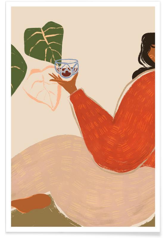 Tanzen, Strände, Grape Juice -Poster