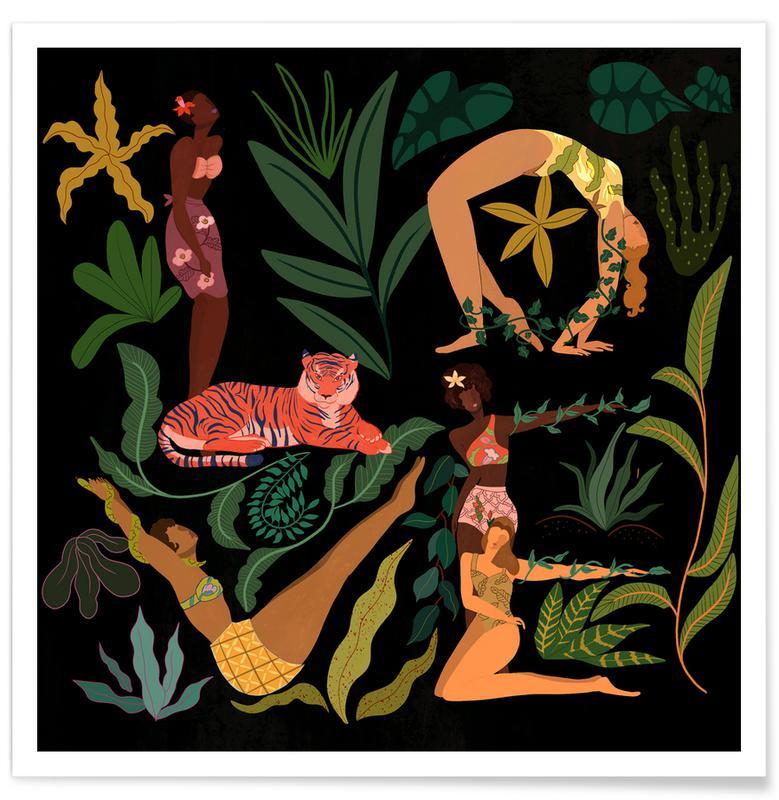 Tanzen, Strände, Love -Poster