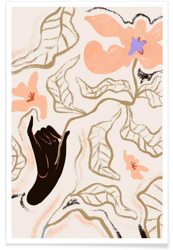 Stranden, Dans, Le Fleur poster