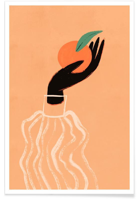 Tanzen, Strände, Vitamin C -Poster