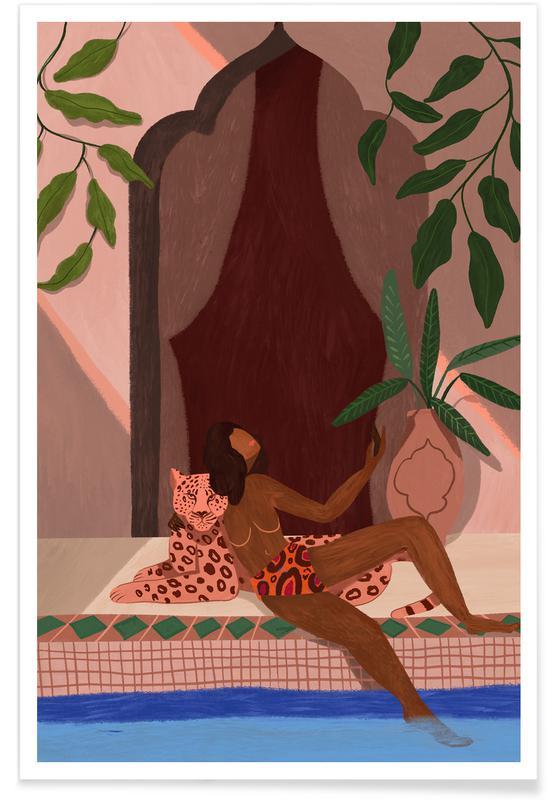 Stranden, Dans, Exotic Holiday poster