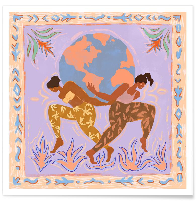 Danse, Plages, Women Rule The World affiche