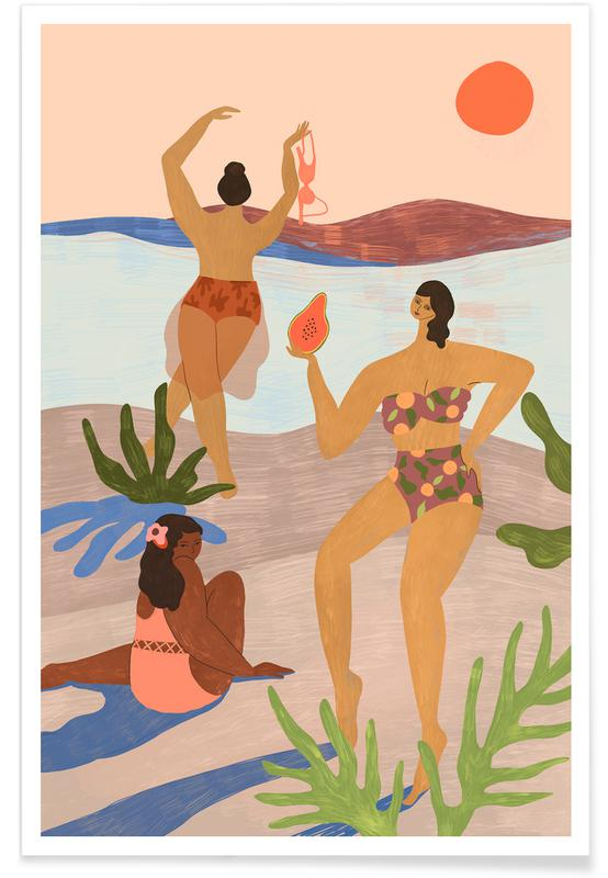 Tanzen, Strände, Adayatthebeach -Poster