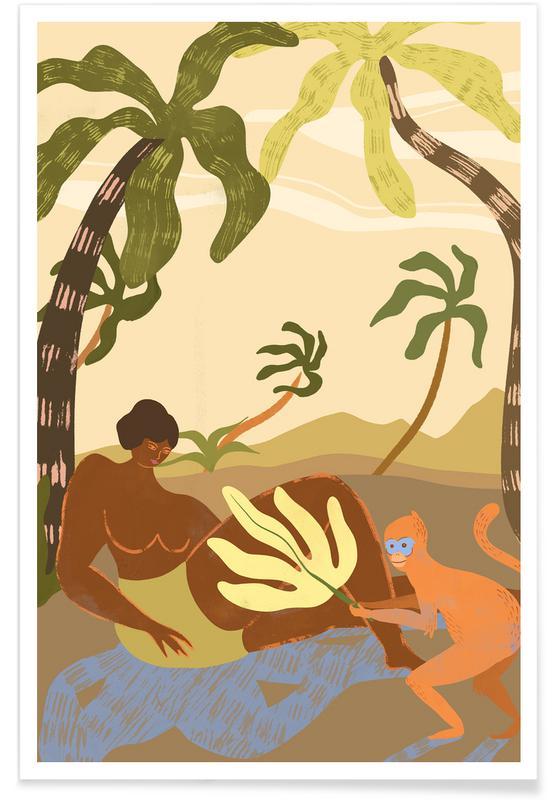 Stranden, Dans, Monkey Around poster