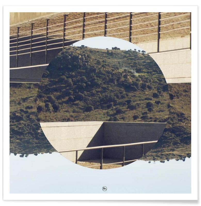 Paysages abstraits, Platforma affiche