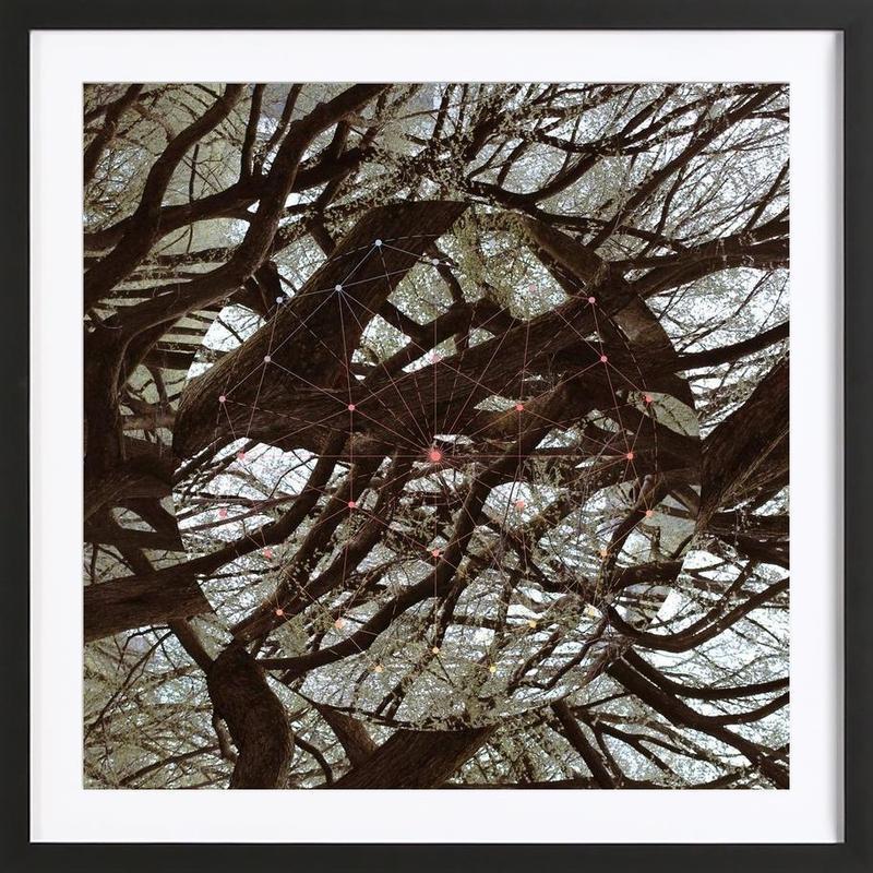 Afterlife -Bild mit Holzrahmen