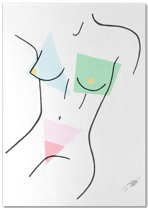 Détails corporels, Nakeducation by @_juliazrn bloc-notes