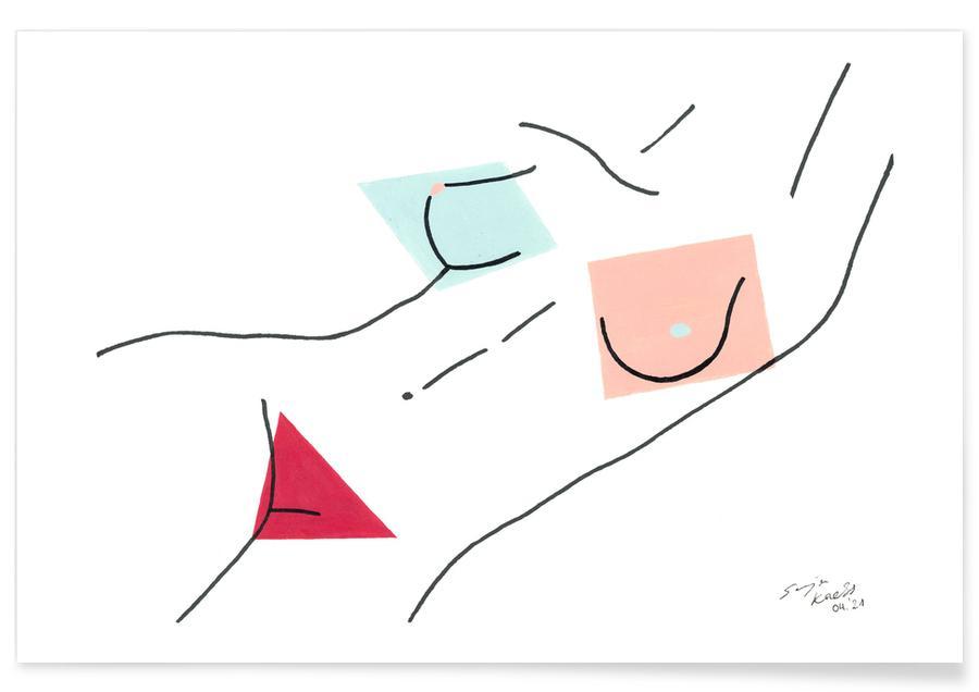 Détails corporels, Nakeducation by @sonsonjaja affiche