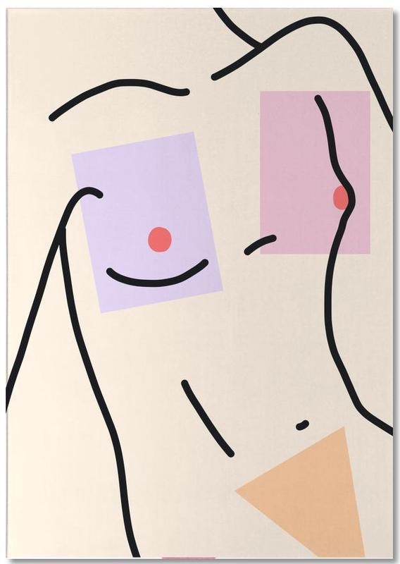 Détails corporels, Nakeducation 3 by @avejanson bloc-notes