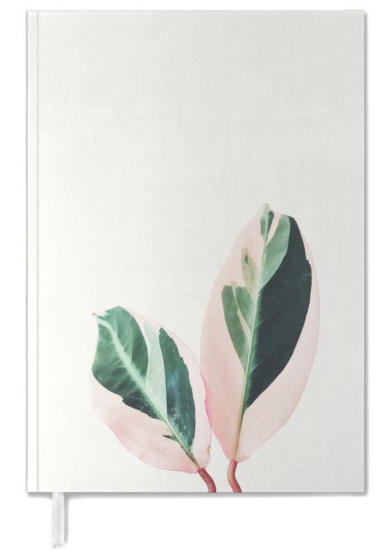 Pink Leaves Personal Planner
