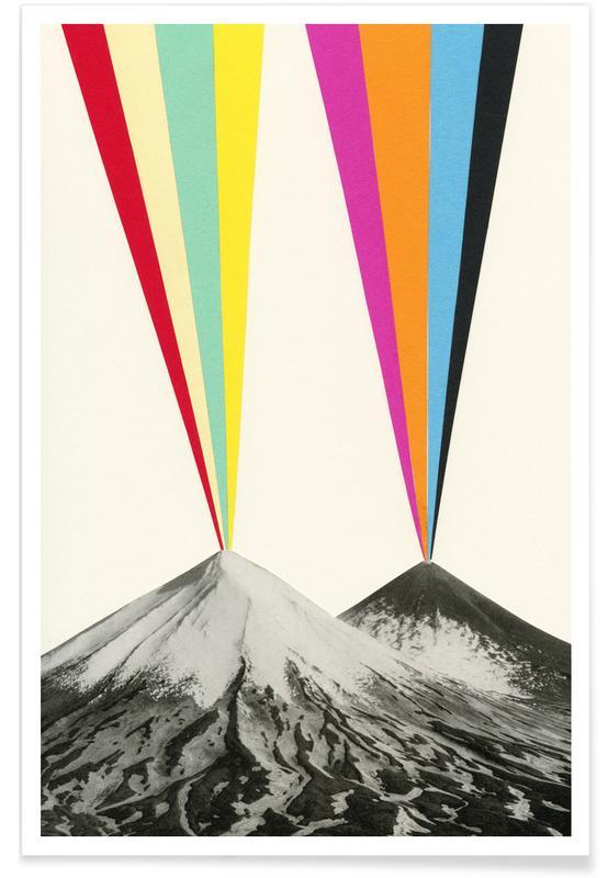 Bergen, Volcanos poster