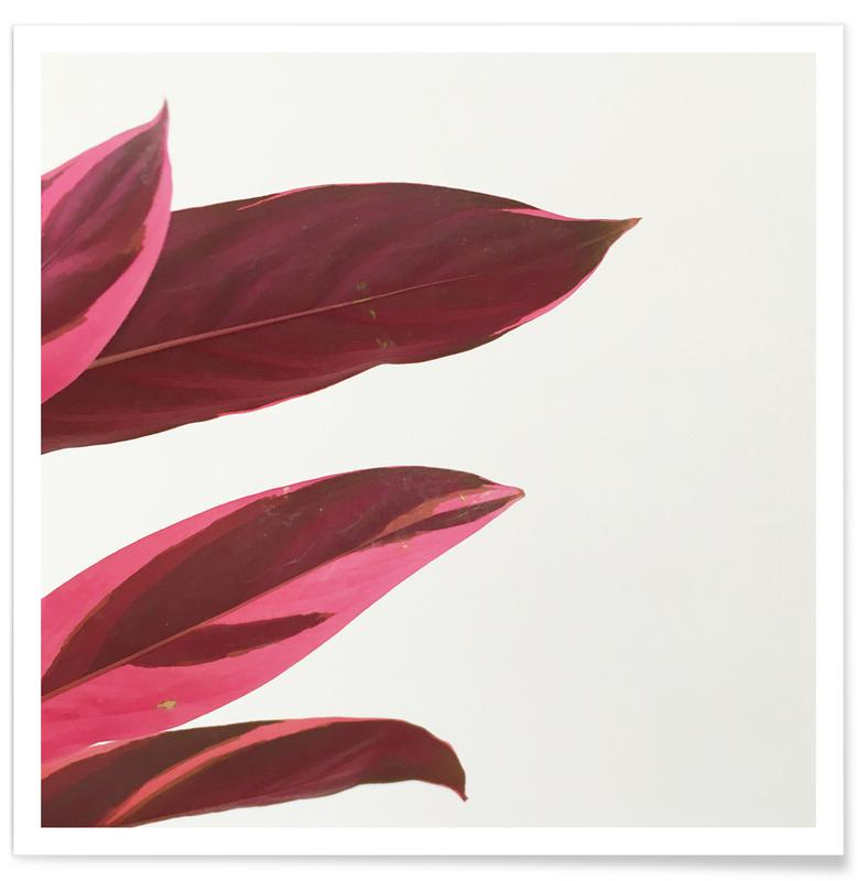 Bladeren en planten, Red Leaves I poster