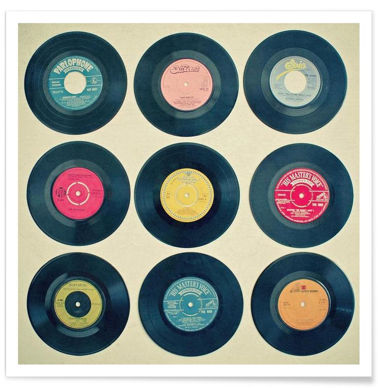Vinyl collection affiche