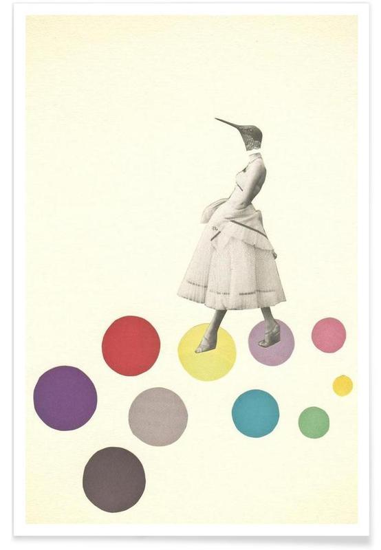 Bird lady poster