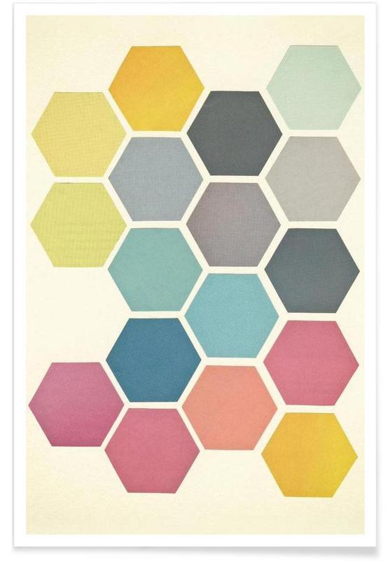 Motifs, Honeycomb II affiche