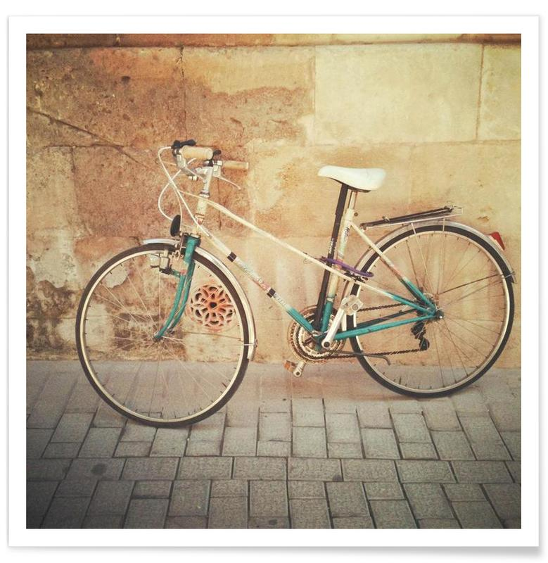Bicycles, La Bicicleta Poster