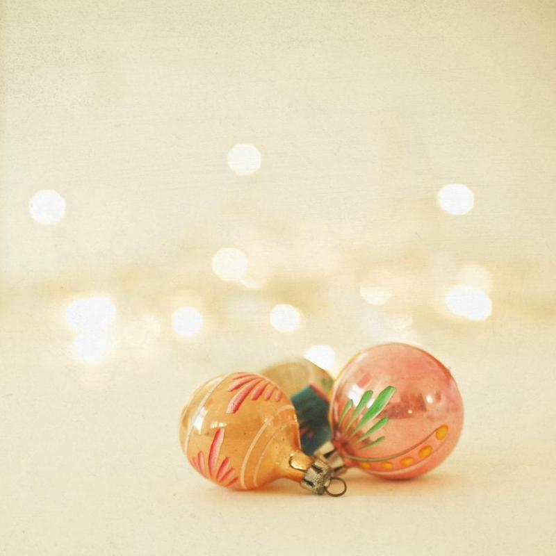 Christmas Baubles 2 -Acrylglasbild