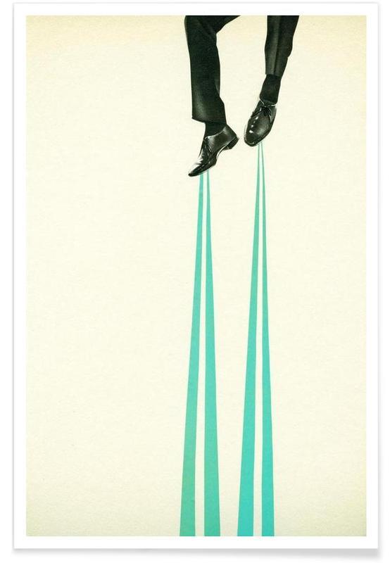 Körperformen, Retro, I am The Inventor -Poster