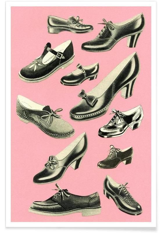 Retro, Shoe Fetish poster