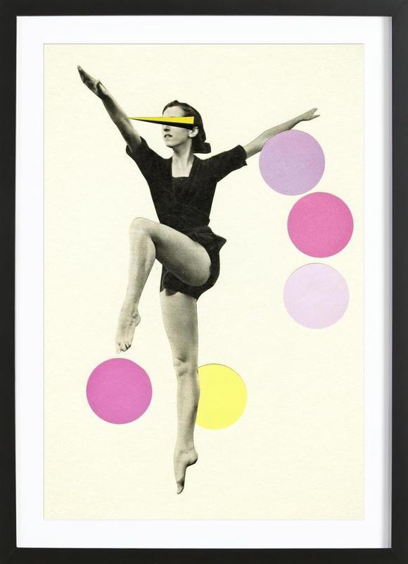 The Rules of Dance II Framed Print