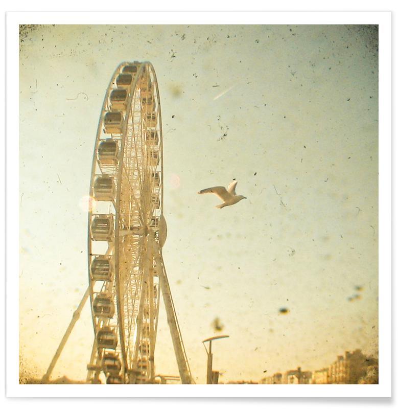 Londres, Monuments et vues, Bird's Eye View affiche