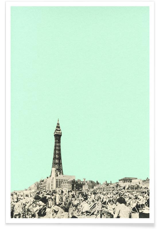 , Blackpool poster