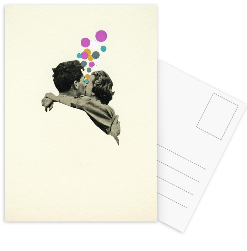 First Kiss -Postkartenset