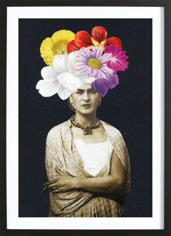 Beautiful Frida Framed Print