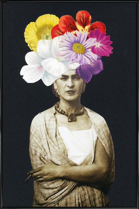 Beautiful Frida affiche encadrée
