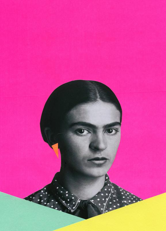 Modern Frida Canvas Print