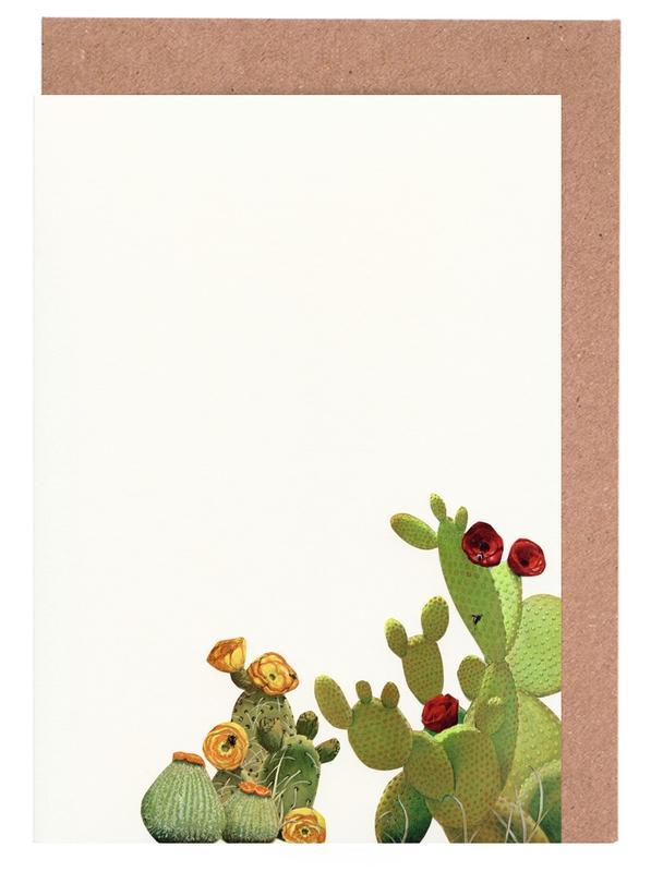 Cactus Garden II -Grußkarten-Set