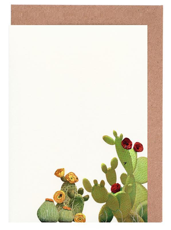 Cactus Garden II Greeting Card Set