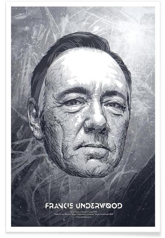 Black & White, TV Shows, Francis Poster