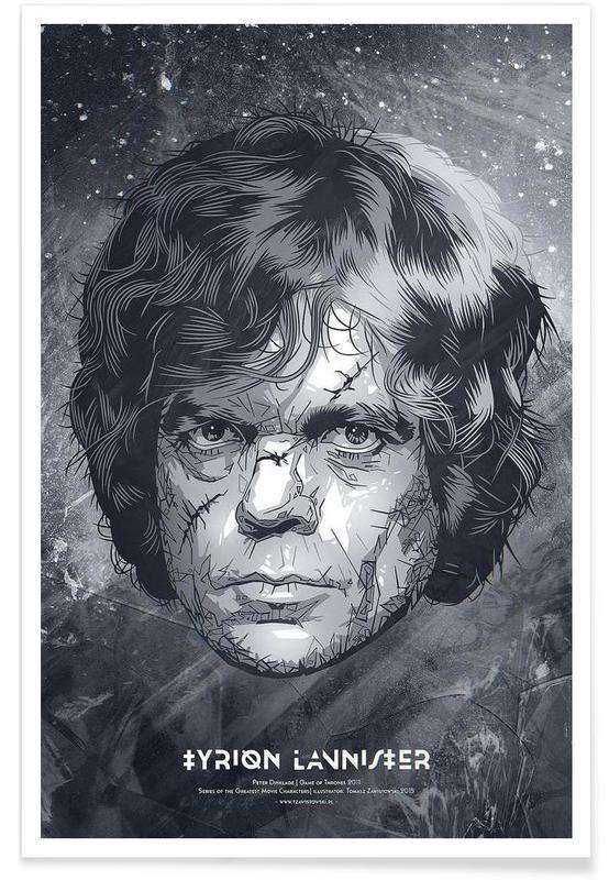 Black & White, TV Shows, Tyrion Poster
