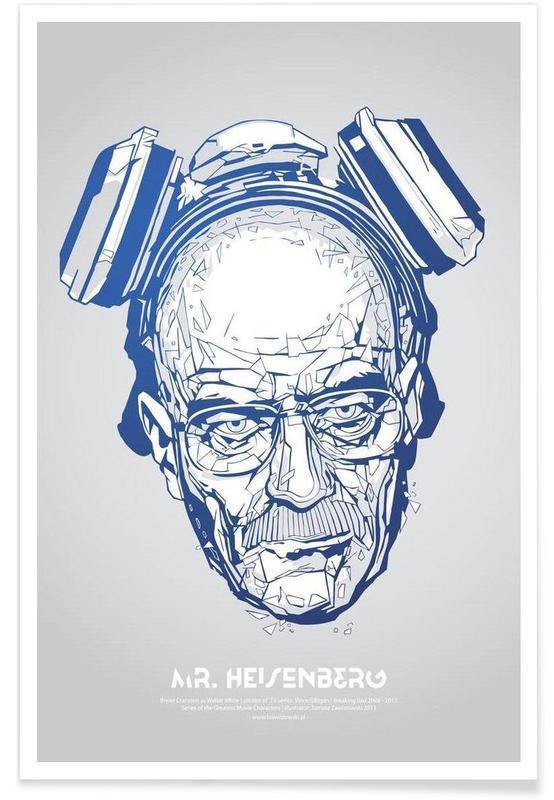 Séries TV, Mr Heisenberg affiche