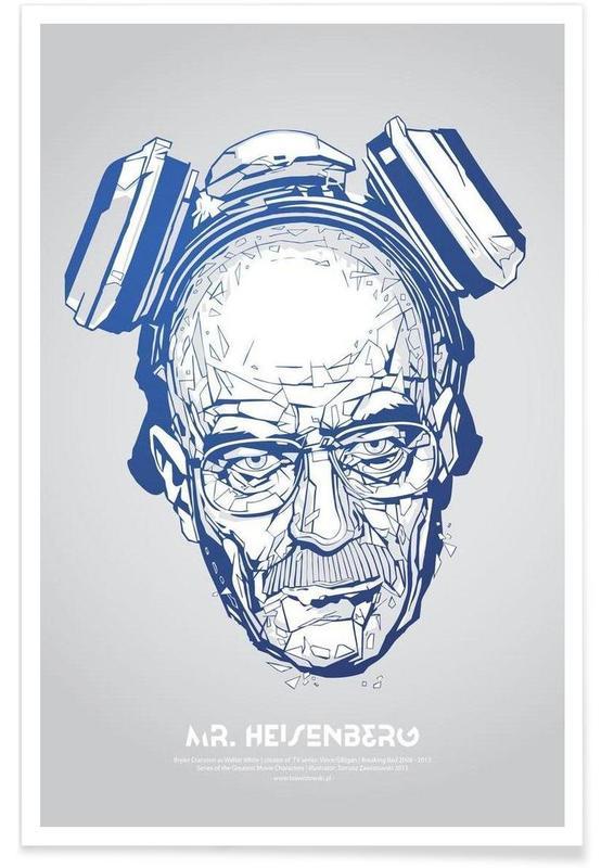 Mr Heisenberg Poster