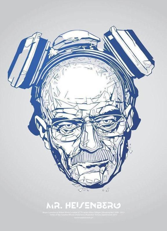 Mr Heisenberg toile