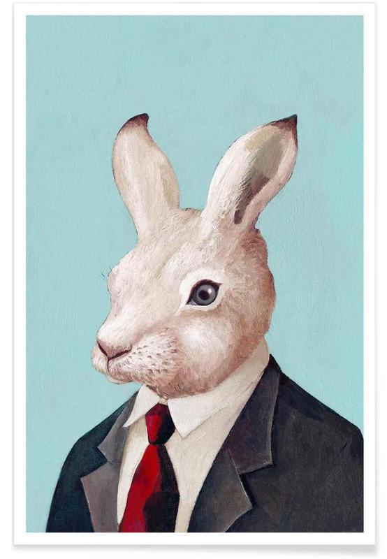 Creatures & Hybrids, Rabbit Poster