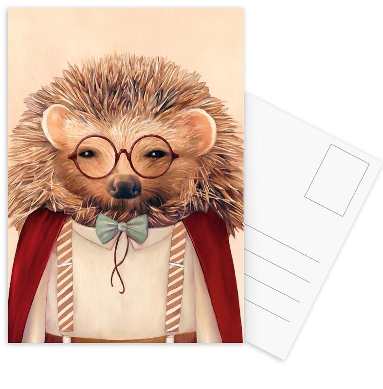 Hedgehog Postcard Set