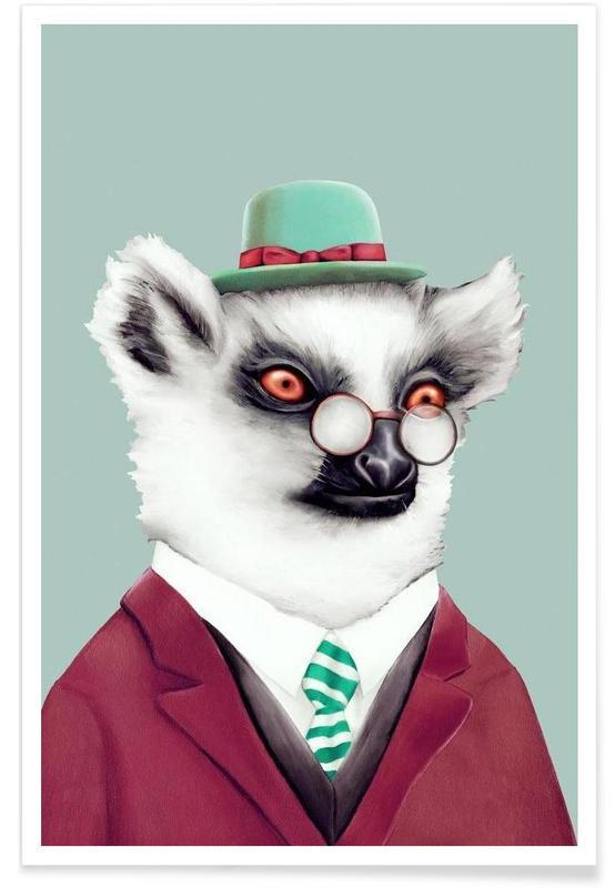 Creatures & Hybrids, Lemur Poster