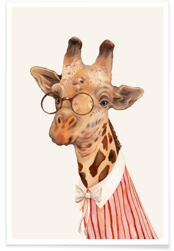 Ms Giraffe -Poster