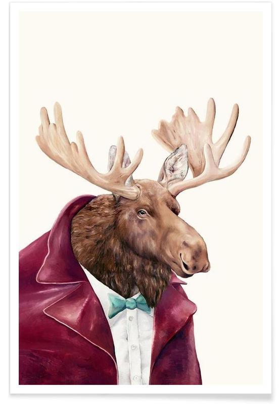 Créatures et hybrides, Moose affiche