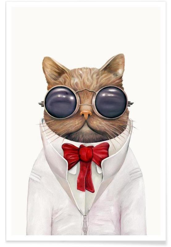 Astro Cat -Poster