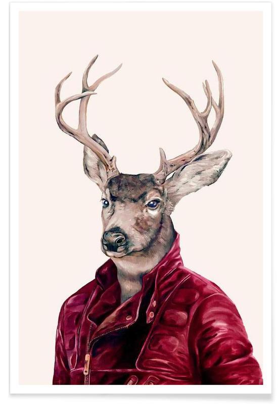 Creatures & Hybrids, Deer Poster