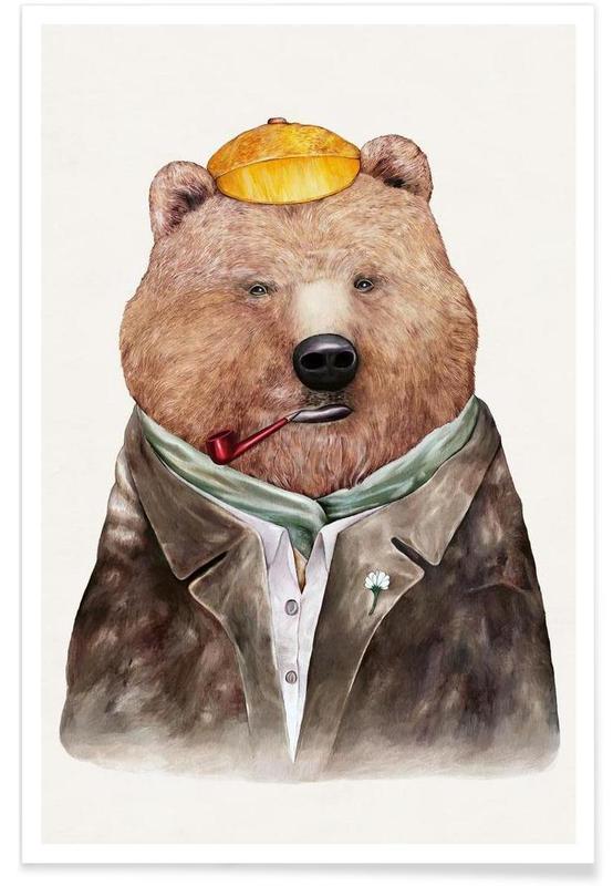 Créatures et hybrides, Brown Bear affiche