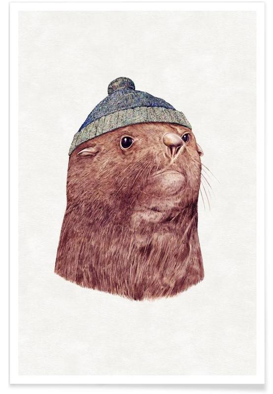 Fur Seal -Poster
