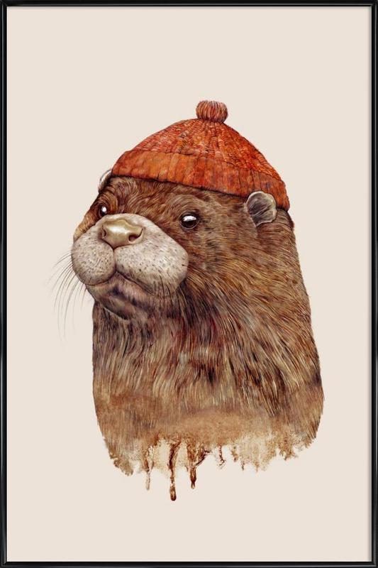 Otter Framed Poster