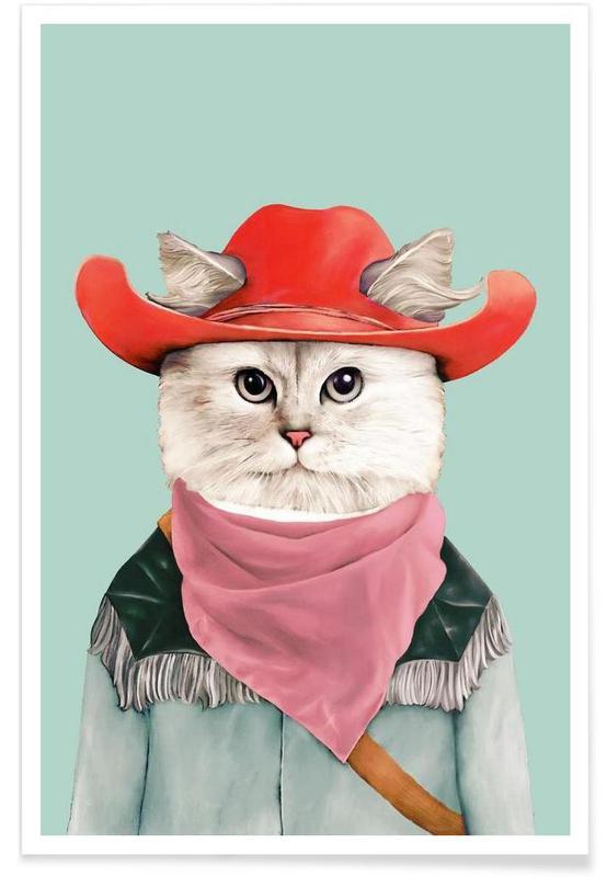 Rodeo Cat affiche